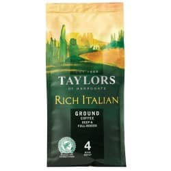 Taylors of Harrogate Rich Italian Ground Coffee 227 g