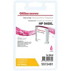 Office Depot Compatible HP 940XL Ink Cartridge C4908AE Magenta