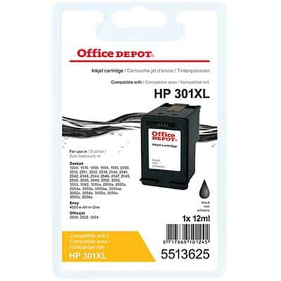 Office Depot Compatible HP 301XL Ink Cartridge CH563EE Black