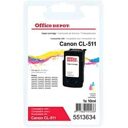 Office Depot Compatible Canon CL-511 Ink Cartridge 3 Colours