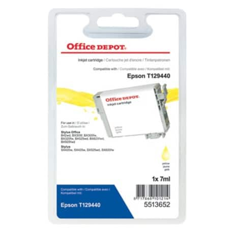 Office Depot Compatible Epson T1294 Ink Cartridge t12944010 Yellow