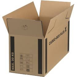 Cargo Box Plus Cardboard Boxes 660 x 350 x 360 mm - Pack of 10