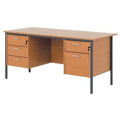 Straight Desk Classic Beech 1,500 x 730 x 725 mm