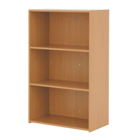 Classic medium bookcase in beech-effect