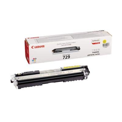 Canon 729 Original Toner Cartridge Yellow