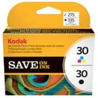 Kodak 30B & 30C Original Ink Cartridge 8039745 Black & 3 Colours 2 pieces