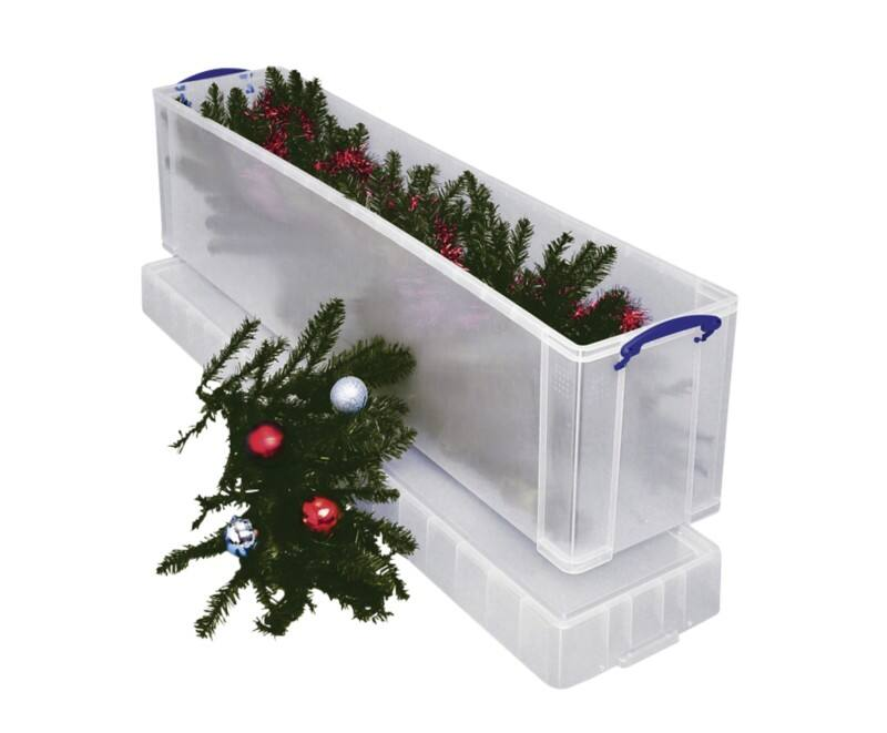 Gentil Really Useful Christmas Tree Storage Box 77 L Viking Direct Ie