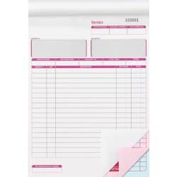 3-Part Invoice Books 203 x 279 mm