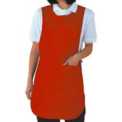 Alexandra Tabard With Pocket Red Size Large (Bust 104 - 112 cm)