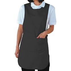 Alexandra Tabard With Pocket Black Size Large (Bust 104 - 112 cm)