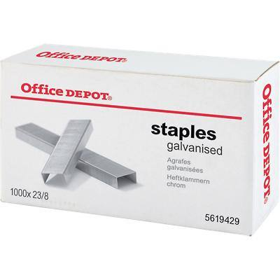 Office Depot Staples 23/8 Pack of 1000