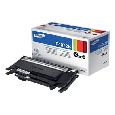 Samsung CLT-P4072B Original Toner Cartridge Black Pack of 2