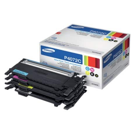 Samsung CLT-P4072C Original Toner Cartridge Black & 3 Colours 4 pieces