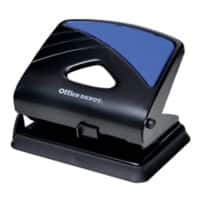 Office Depot Hole Punch 96W0 Black, Blue 30 Sheets