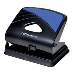 Office Depot Metal Two Hole Punch  - Up to 30 Sheet capacity