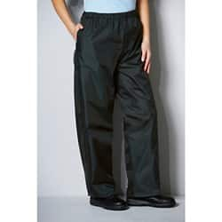 Alexandra unisex fit  Waterproof Trousers Black size  Small 71 - 76 cm