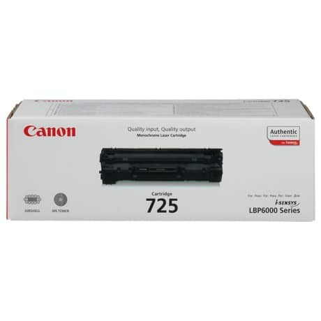 Canon 725 Original Toner Cartridge Black