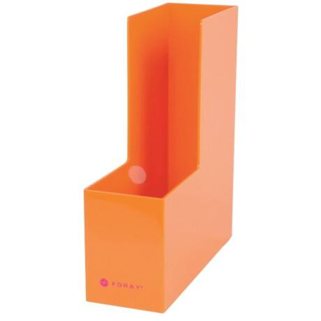 Foray Generation Magazine File plastic Orange 30 x 9.4 x 26.3 cm