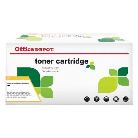 Office Depot Compatible HP 504A Toner Cartridge ce251a Cyan