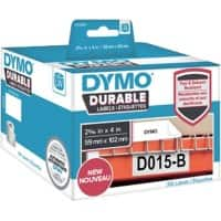 DYMO LW Durable Multi-purpose Labels 1933088 Black on White 59 mm x 102 mm 300 Labels
