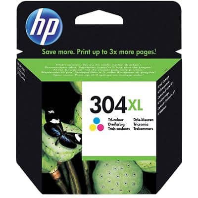 HP 304XL Original Ink Cartridge N9K07AE Cyan, Magenta, Yellow