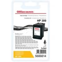 Office Depot Compatible HP 300 Ink Cartridge CC640EE Black