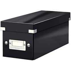 Leitz  Click & Store CD Storage Box, Black