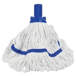 Exel Revolution mop head and handle blue