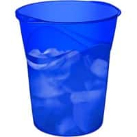 CEP Waste Bin Happy Polypropylene Ultramarine 30.5 x 29 x 33.4 cm