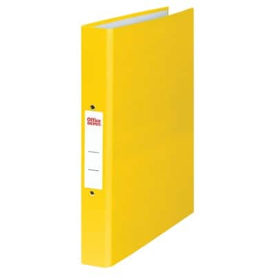 Office Depot Ring Binder A4 2 ring 25 mm Yellow
