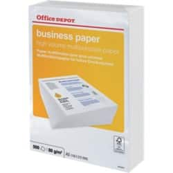 Office Depot Business Paper A5 80gsm White 500 sheets