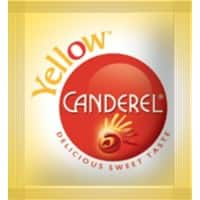 Canderel Sweetener Sachets Yellow 1000 Pieces
