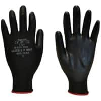Polyco Gloves P Grip Polyurethane Size 9 Black