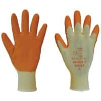 Polyco Gloves Latex Size 7 Orange