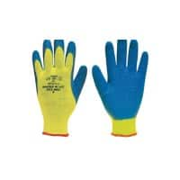 Polyco Gloves Latex Size 10 Yellow, Blue