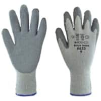 Polyco Gloves Latex Size 8 Grey