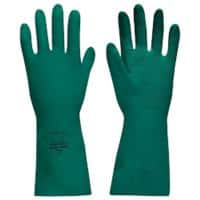 Polyco Gloves Gauntlet Nitrile Size 8 Green