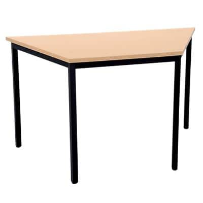 Niceday Trapezoidal Meeting Room Table 1200 mm Beech
