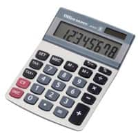 Office Depot Desktop Calculator AT-812T Silver 8 Digit Display
