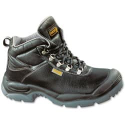 Unisex Sault safety boot Size: 8 Black