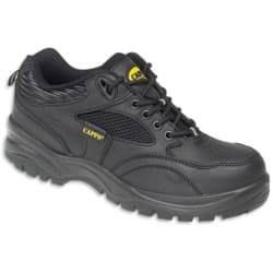Alexandra Safety Shoes Mens leather 10 Black