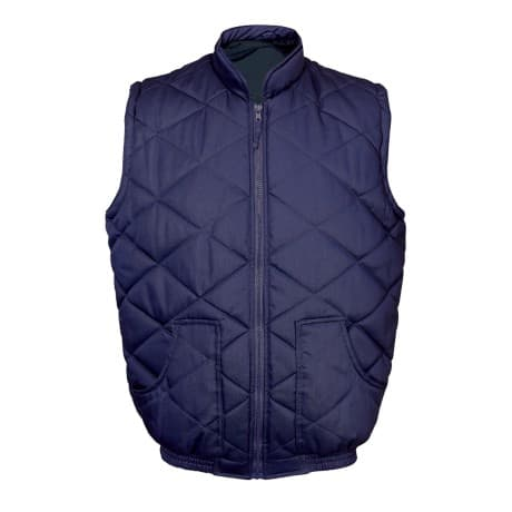 Unisex Quilted body warmer Size: XXL Navy