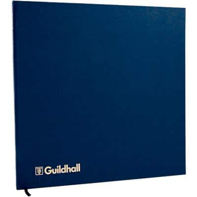 Guildhall Account Book 51/7-14Z Petty Cash Rulings 7 Debit, 14 Credit Plus Narrative 80 Pages