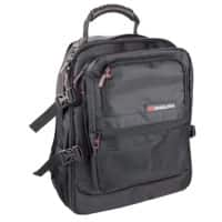 Monolith Laptop Backpack 9107 15.4 Inch 34 x 44 x 22 cm Black