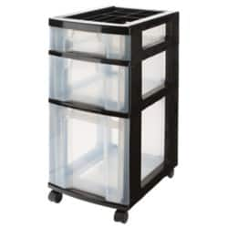 Really Useful 3 Drawer Unit 1 x 7 Litre, 1 x 12 + 1 x 25 Litre Drawers