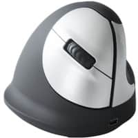R-Go Tools Ergonomic Mouse R-Go HE Mouse, Ergonomic mouse, Medium (165-195mm), Right Handed, wireless Black