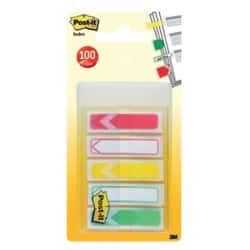 Post-it Index Flags Arrow Assorted 10 sheets
