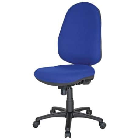 Realspace Office Chair Sierra permanent contact Blue