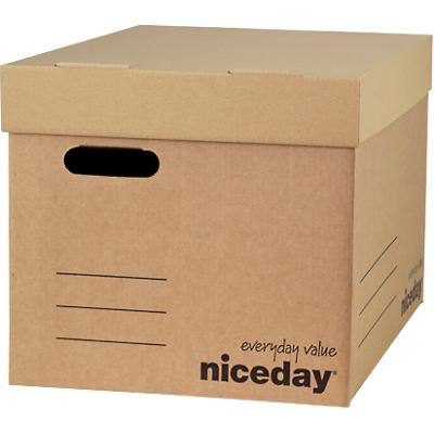 Niceday Economy XL Archive Box - Pack of 10