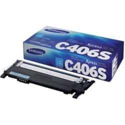 Samsung CLT-C406S Original Toner Cartridge Cyan